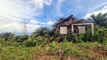Penampakan Bangunan Mati di Lokasi Proyek Bukit Algoritma