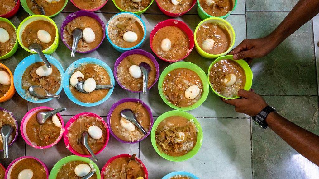 Potret Buka Puasa di Hari Pertama Ramadhan dari Semarang-Malang
