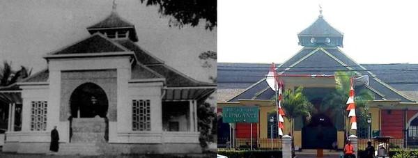 Masjid Besar Cipaganti yang berada di Jalan R.A.A. Wiranatakusumah No.85 merupakan salah satu masjid tertua yang ada di Kota Kembang Bandung. Dok. www.simas.kemenag.go.id.