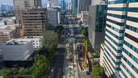 MRT HI-Harmoni Sudah 13%, Tugu Jam Thamrin Siap Direlokasi