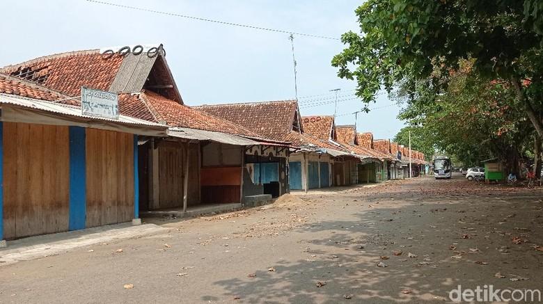 Salah satu sudut kawasan pasar wisata Pangandaran