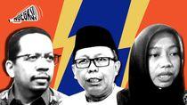 Saling Silang Usulan Jokowi-Prabowo vs Kotak Kosong