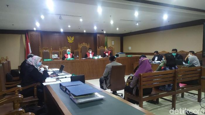 Sidang mantan panitera PN Jakarta Utara, Rohadi (Arun/detikcom)