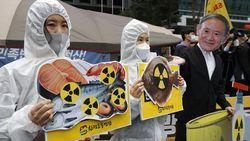 Nelayan Korsel Protes Rencana Jepang Buang Limbah Cair Fukushima ke Laut