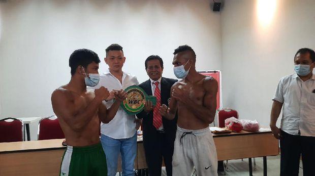 Tibo MonabesaKejuaraan tinju World Boxing Council (WBC) Internasional akan digelar Rabu (14/4). Di Balai Sarbini, Jakarta petinju tuan rumah Tibo Monabesa berjumpa Toto Landero (Filipina) kelas Light Heavyweight.