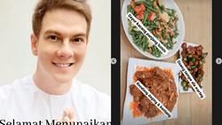 Bertoleransi, Bertrand Antolin Ikut Siapkan Makanan Buka Puasa ART-nya