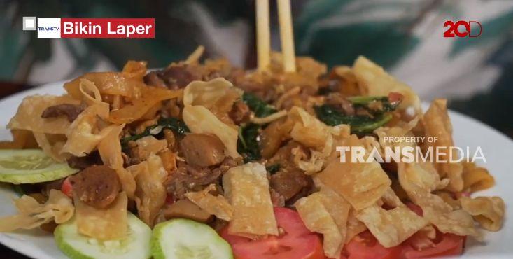 Bikin Laper! Ncess Nabati Ketagihan Makan Mie Baso Babat khas Tasik yang Gurih
