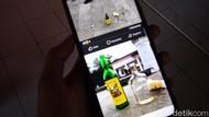 Geger Botol Miras Berserakan di Taman GGM Majalengka