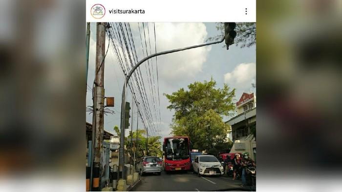 Foto bus batik solo trans ugal-ugalan yang viral