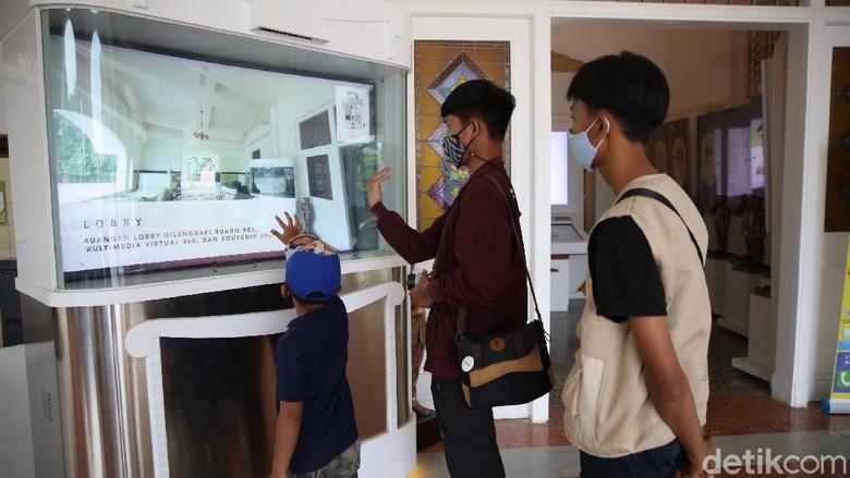 Gedung Juang 45 Tambun yang telah jadi Museum Bekasi pasca direvitalisasi.