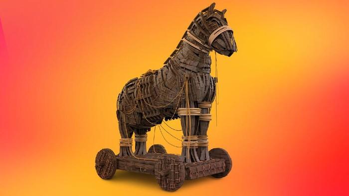 Ilustrasi Trojan