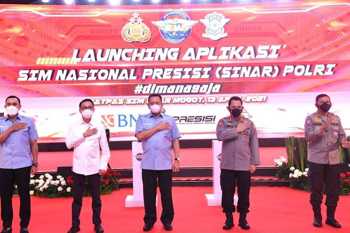 Ketua MPR Bambang Soesatyo hadiri peluncuran aplikasi SINAR