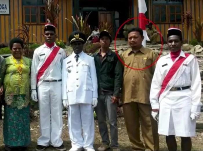 Oktavianus Rayo, guru yang tewas ditembak KKB di Kampung Julukoma, Distrik Beoga (dok Istimewa)  Foto didapat dari Puspen TNI