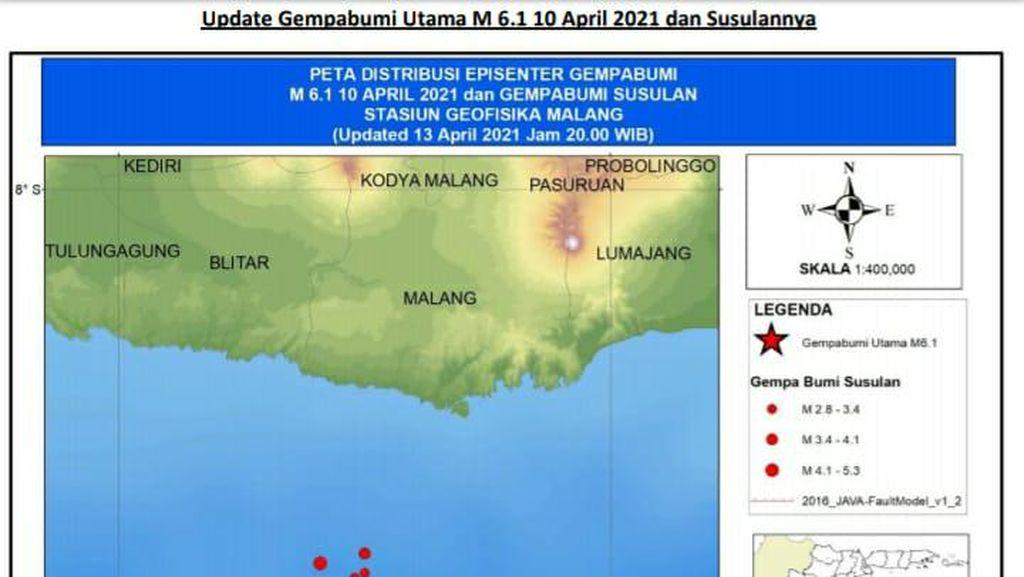Gempa Susulan Malang Lebih Kecil, BMKG Sebut Pertanda Baik