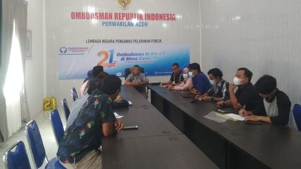 TNI Minta Kosongkan, Warga Asrama Dewan Revolusi Aceh Mengadu ke Ombudsman