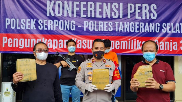 Polisi tangkap mahasiswa pengedar ganja di kampus Jakarta Selatan