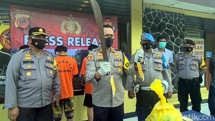 Polisi Tangkap Pembacok Siswa SMK di Sukabumi