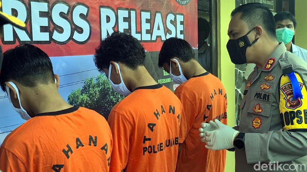 Pelajar SMK Sukabumi Tewas Dibacok, 3 Pelaku Ditangkap Polisi