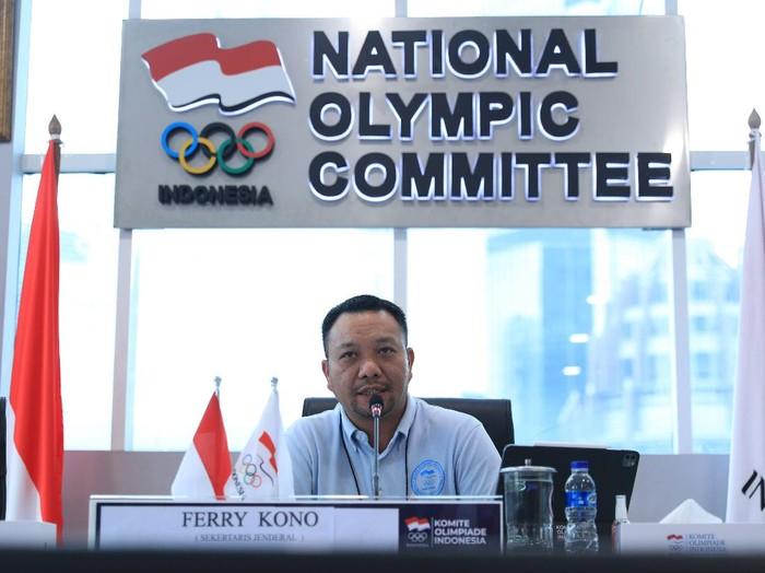 Sekretaris Jenderal KOI Ferry J Kono