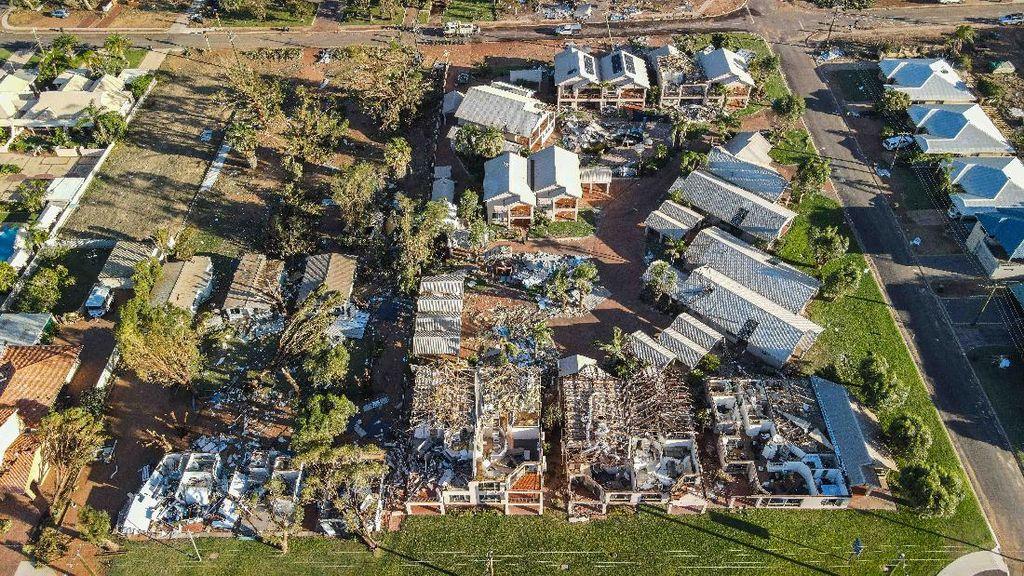 Giliran Siklon Seroja Hantam Kota Wisata di Australia