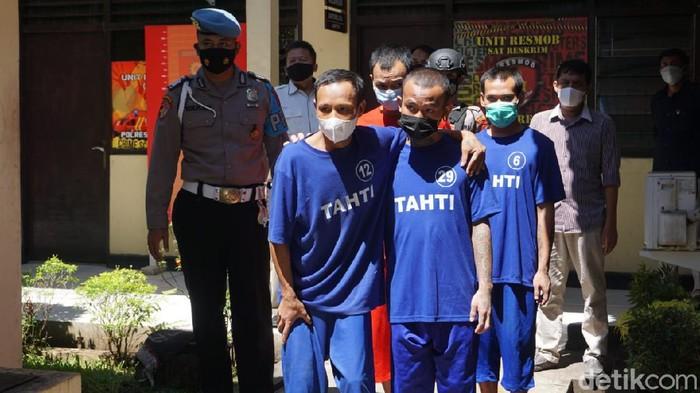 Tahanan yang kabur dengan cara membobol kamar mandi Polres Purbalingga akhir Maret 2021 lalu