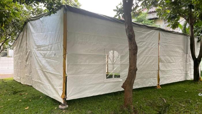 Tenda Masjid At-Tabayyun di Kompleks TVM Jakbar