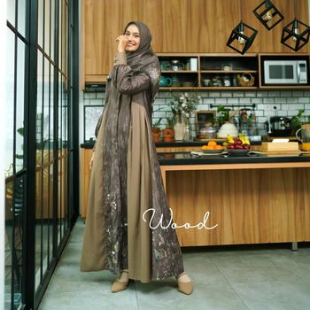 Koleksi long dress dari Zyskuxena.
