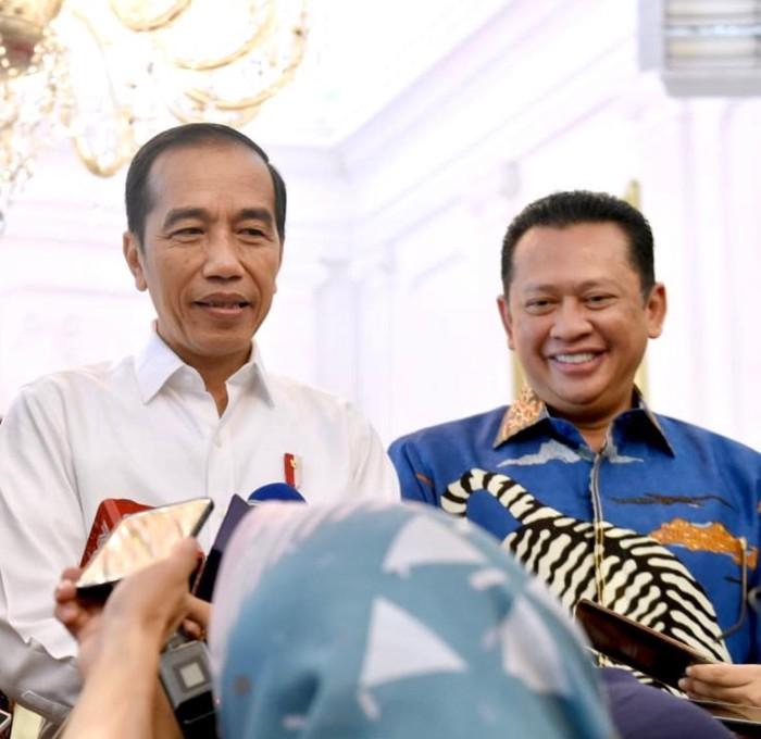 Bamsoet & Jokowi