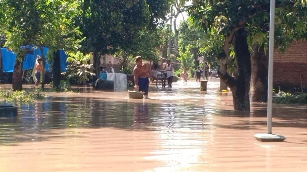 Selain Banjir Terjang 21 Desa, Bencana Longsor Juga Terjadi di Madiun