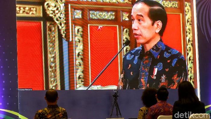 Indonesia International Motor Show (IIMS) kembali digelar. Presiden Joko Widodo membuka IIMS yang digelar hybrid ini dari Istana secara virtual.
