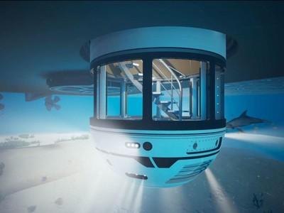 Keren Banget! Superyacht Gaya Baru: Punya Dek Bawah Air