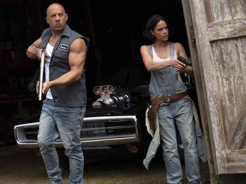Cuplikan foto adegan Fast and Furious 9.