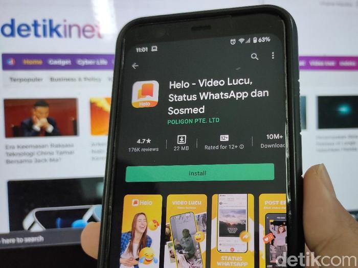 Aplikasi Helo resmi diluncurkan di Indonesia