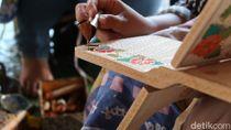Mati Suri Sentra Produksi Rekal Motif Batik di Bantul