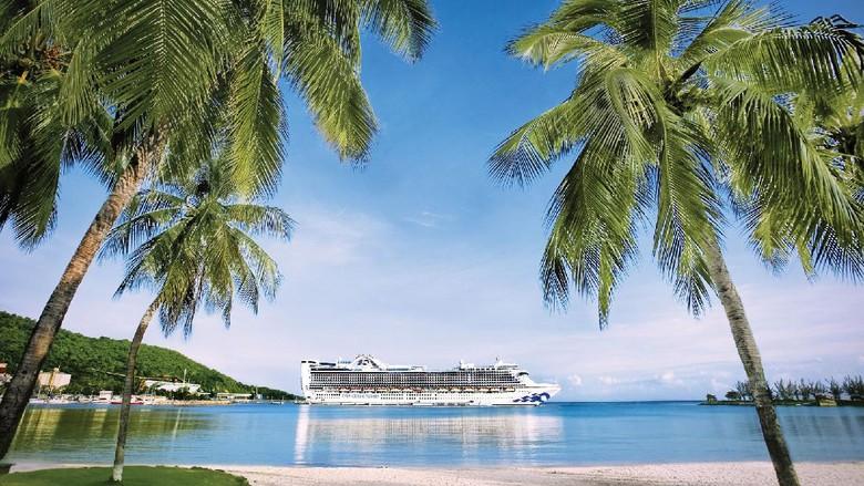 Jalur kapal pesiar Princess Cruises