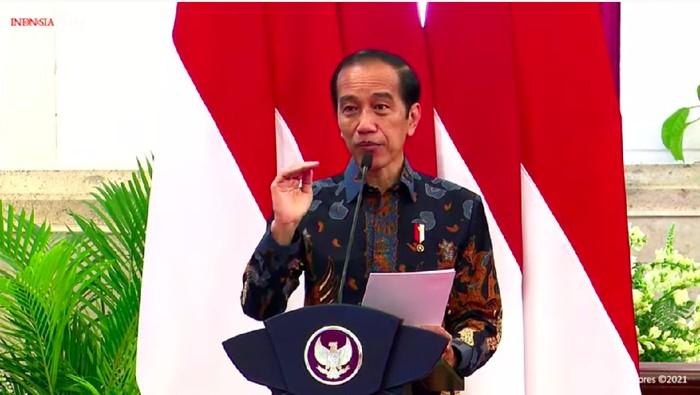 Jokowi Buka IIMS Hybrid 2021