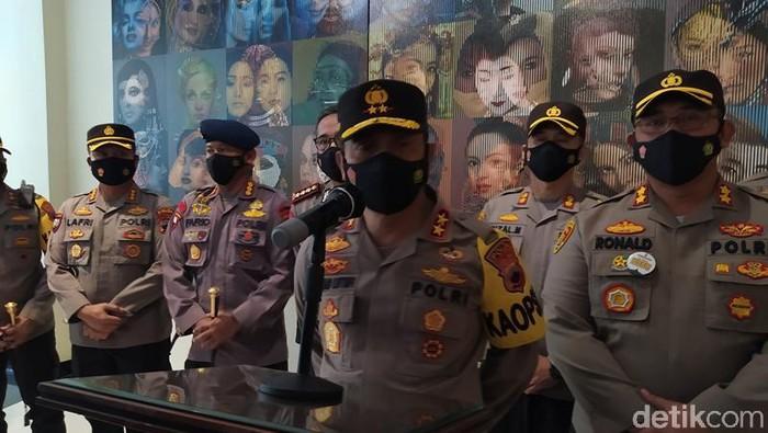 Kapolda Jateng Irjen Ahmad Luthfi saat di Magelang, Kamis (15/4/2021)