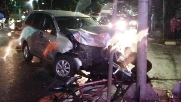 Kecelakaan di Jakpus (Dok kontributor Pasangmata Deden)