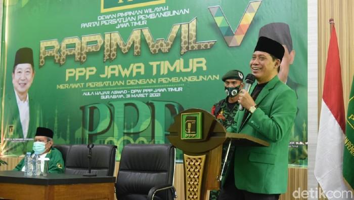 Ketua DPW PPP Jatim Musyaffa Noer
