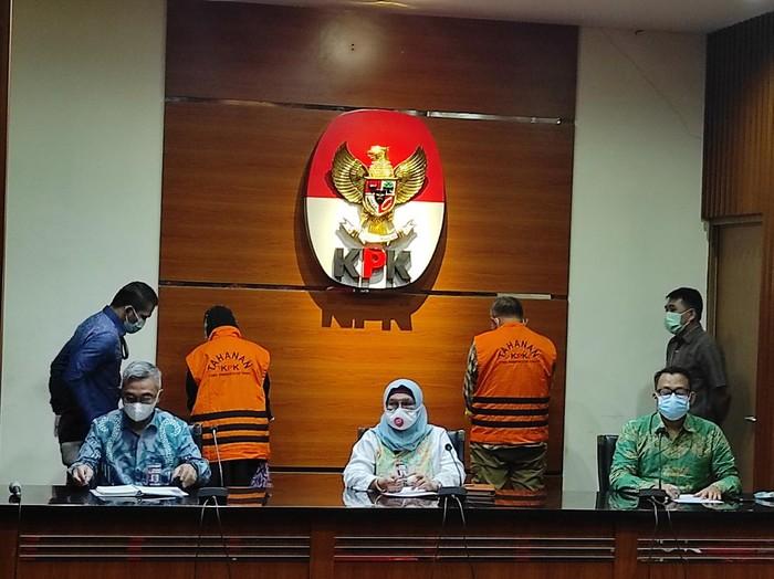 KPK tetapkan 2 mantan anggota DPRD Jabar jadi tersangka kasus suap (Azhar-detikcom)
