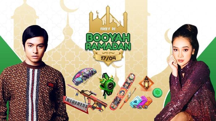 Main Free Fire Ditemani Anya Geraldine Dalam Booyah Ramadan!