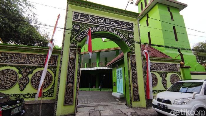 Masjid Jami Pekojan Semarang yang dibangun 1,5 abad lalu dan menjadi cagar budaya di Kota Semarang