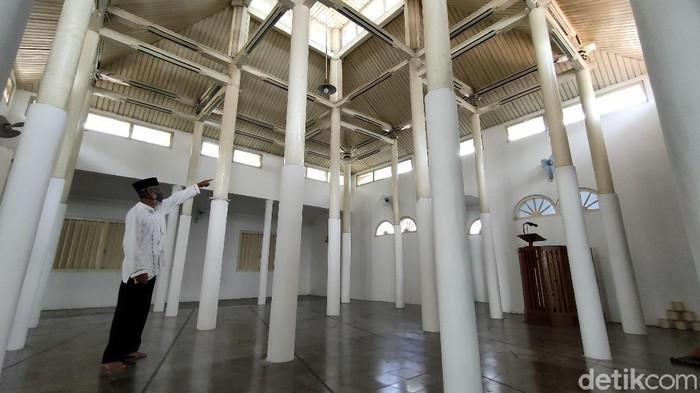 Masjid Trayu di Galur, Kulon Progo, DIY, Kamis (15/4/2021).