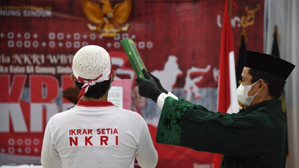 34 Napi Teroris Ucap Ikrar Setia Kepada NKRI