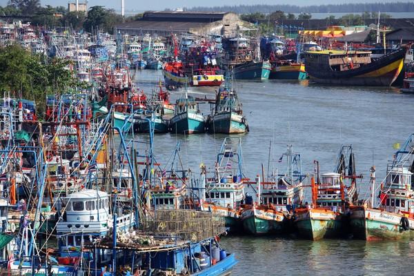 Pelabuhannya yang ramai jadi tempat saudagar muslim berdagang dan menyebarkan agama Islam.(Getty Images)