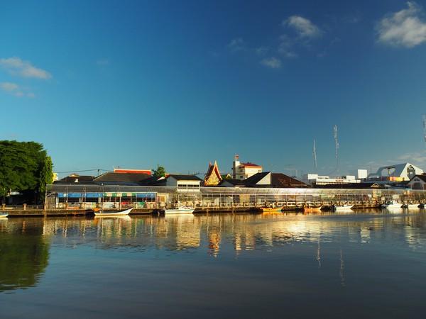 Pattani merupakan provinsi di selatan Thailand yang berbatasan dengan wilayah Kelantan, Malaysia.(Getty Images)