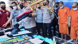 Polisi Tangkap Komplotan Pemobol ATM Modus Ganjal Tusuk Gigi di Tasik