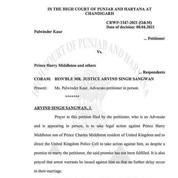 Petisi Wanita India Minta Dinikahi Pangeran Harry.