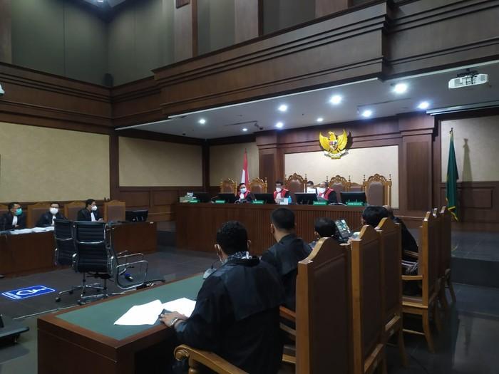 Suasana Sidang Suap Edhy Prabowo dkk