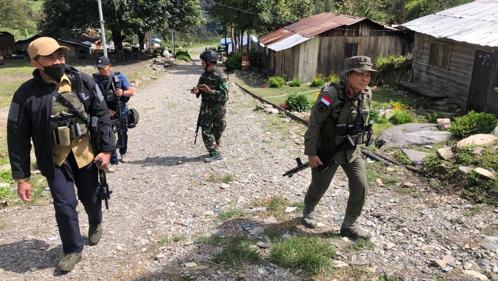 Sempat Mencekam karena KKB, TNI-Polri Kuasai Beberapa Titik di Beoga Papua